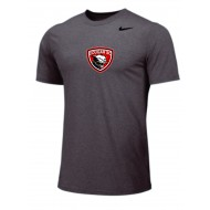 Cougar Soccer Club Nike Legend Short Sleeve T - GRAY