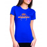 Springfield Basketball NEXT LEVEL Womens T Shirt
