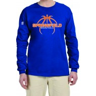 Springfield Basketball GILDAN Long Sleeve T Shirt