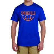 Springfield Basketball GILDAN T Shirt - ROYAL