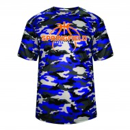 Springfield Basketball BADGER Camo T